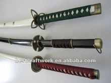Three Pieces Set Japanese Bleach Cosplay Sword