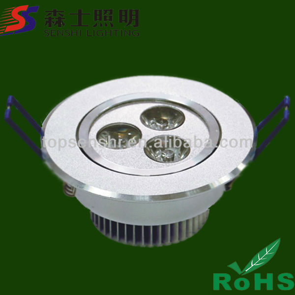 Surface Mounted LED Ceiling Light With 50000 Hours High Power Factor