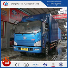 Hot-selling FAW Cargo truck 4*2 light truck with VAN for sale