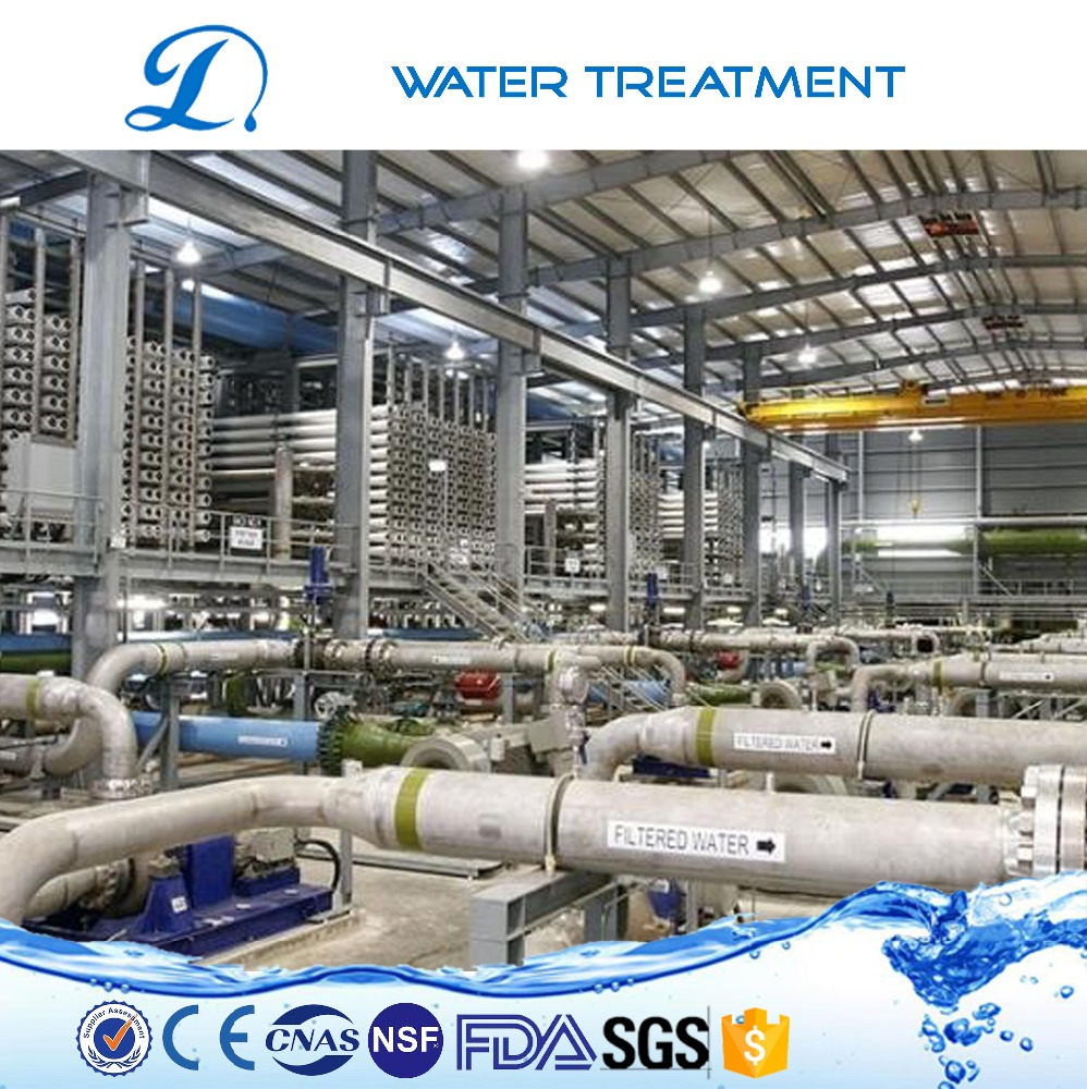 Agriculture/industrial Waste water with reverse osmosis filter treatment facility for farm using