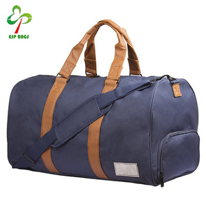 Stylish roomy travel walmart duffle bags, durable mens duffle bag manufacturers with shoes compartment
