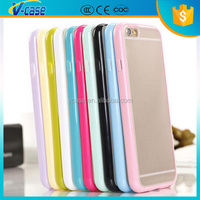 China New Product Cheap Price TPU with PC Case Mobile Phone Accessories For Iphone 6