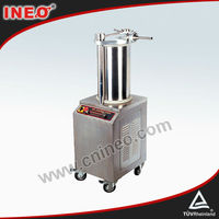 400kg/h Electric Commercial Stainless Steel Sausage Filling Machine(INEO is professional on commercial kitchen project)