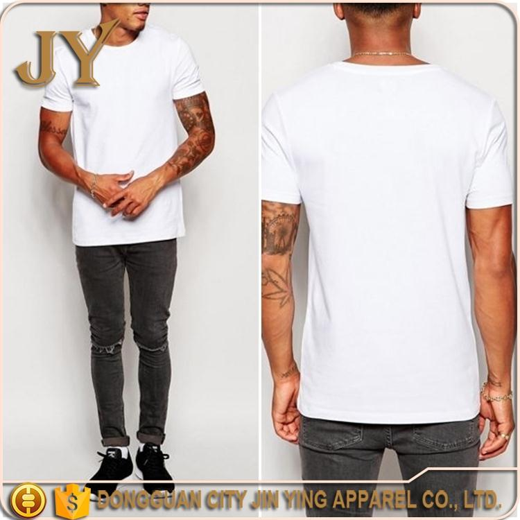 2016 China Supplier Men's Clothing Short Sleeve Tees Causal T-shirts Blank Tees