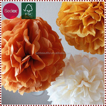 Cheap Tissue Paper Pom Poms Hanging Decoration