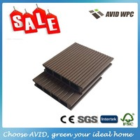 Anti -UV and eco-friendly wpc decking board/wpc flooring for sale