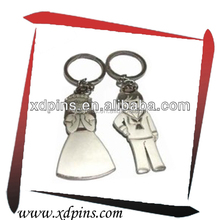 Promotional gifts custom wedding favour keyrings