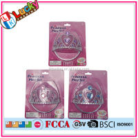 Plastic cheap girl princess tiara toys