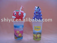 3D Cartoon Drinking Cup with Animal Head