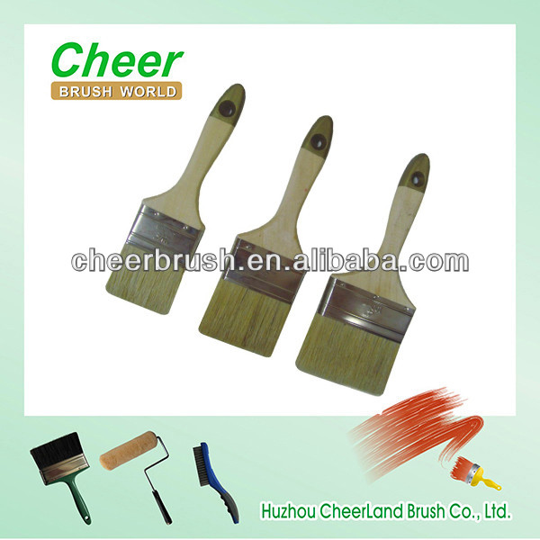 wall paint/texture paint for wall brushing wall tools with white bristle brush cheer151