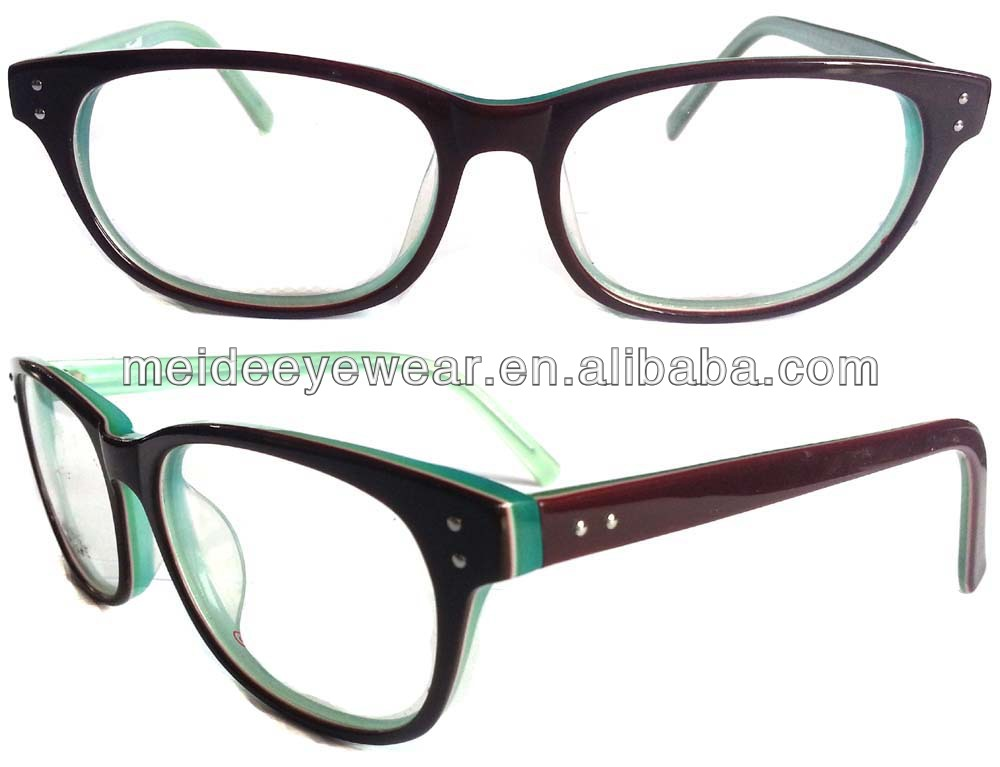 buffalo horn spectacles frames acetate eyewear optical frame