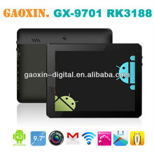 2013 new prodcut on market 9.7inch quad core tablet pc with 3g phone call function