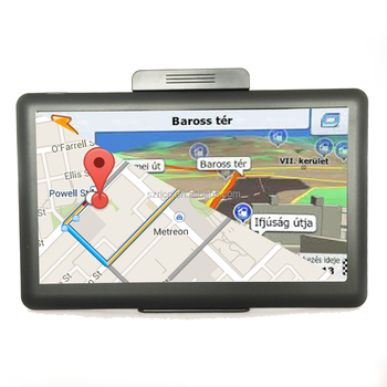 "2019 High Quality Car Truck navigation 7"" Android 6.0 system 1GB RAM 16GB ROM MT8163 CPU Android  Gps Navigation"