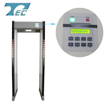 33 Zones PD6500i walk through metal detector weapon and gun detector