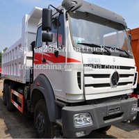 High quality North Benz off road tipper truck 10-wheel dump truck