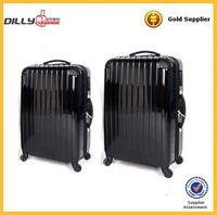 OEM design Alibaba supplier abs pc luggage/trolley bag/trolley suitcase