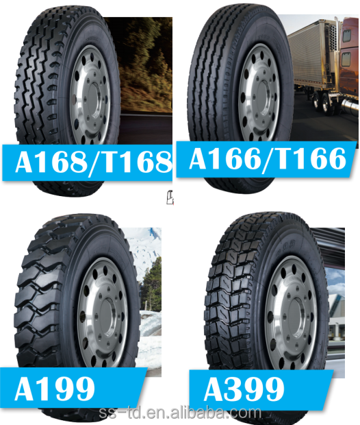 All Steel Radial Truck Tires 7.50R16 7.00R16 6.50R16 8.25R16 Semi Truck Tires Wholesale