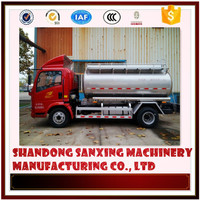 46.2cbm food oil trailer,edible oil tank semi trailer,fuel tanker truck