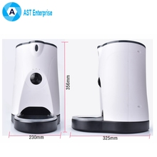 Automatic Pet Feeder Smart APP Operated Wireless Pet Feeder with Camera for Dog Cat