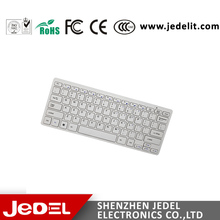 Factory Price 78 Keys Mini White Wired Keyboard For PC and Laptop