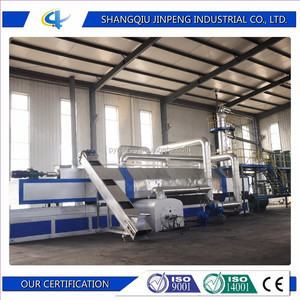 Waste Tire to Fuel Oil Waste Tire to Diesel Waste Tire Rubber Recycling Plant