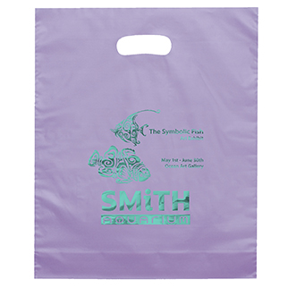OEM Cheap Hot Stamp Printed Bag Foldable Own Logo Plastic Shopping Carrier Bag