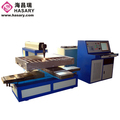 English language support auto feeding Co2 laser cutter rubber coated pipe cutting machine