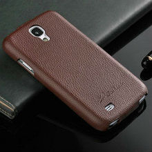 Fashion Genuine leather flip case for samsung galaxy s4 , ultra thin case for samsung galaxy s4