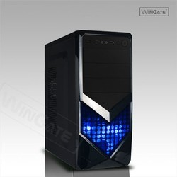Black with Blue LED ATX Full Tower PC Computer Gaming Case