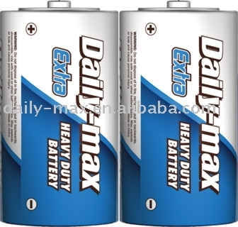 R20P Dsize heavty duty carbon zinc Battery
