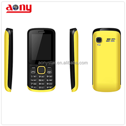 2.4 inch dual sim card mobile phone with large battery
