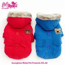 blank dog coat new trendy plain dog winter coat warm outdoor clothes bulk