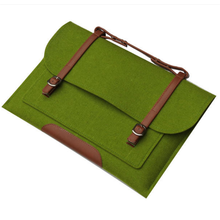 Wholesale Hot selling felt laptop sleeve computer laptop bag for teenagers
