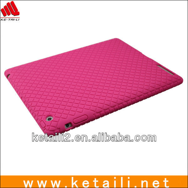 2013 New Arrival Colorful Phone Accessary silicone Case for iPad 2