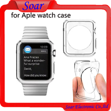 transparent clear tpu case for Aple watch