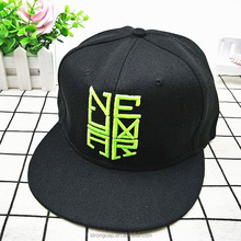 Fashion Brazil embroidery snapback cap conference men and women flat hip hop cap