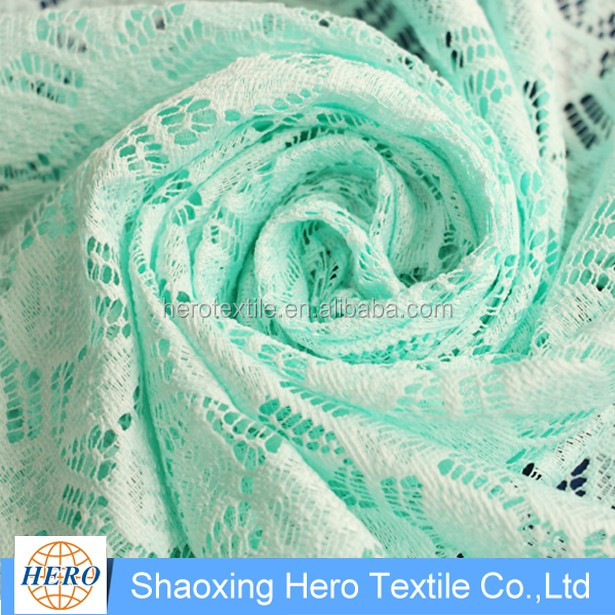 Cheap window / shower blackout manufacturer produce expensive lace fabric