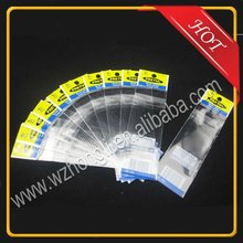 Clear OPP Plastic Packing Bags with Header and Self adhesive