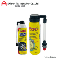 Car and bike tire sealant and inflator anti puncture
