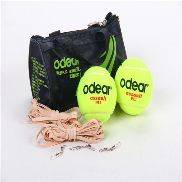 Customized tennis balls equipment for training