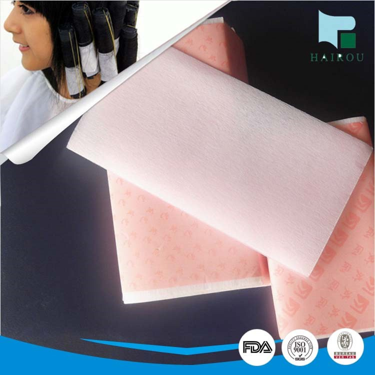 chemical bond non woven hair curling paper