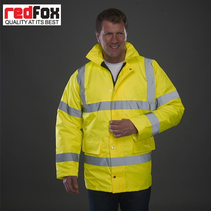 Reflective Classic Waterproof Windproof Motorway Jacket
