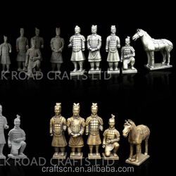 decorative military statues with life size
