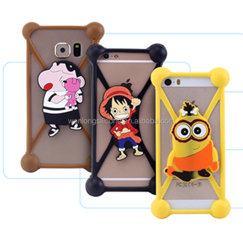 wholesale shockproof silicone cell phone case for alcatel phone
