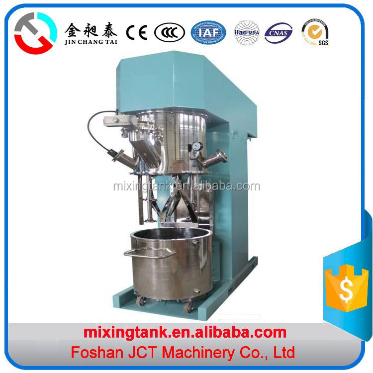 Factory supply vacuum power mixer acid silicone sealant production machine