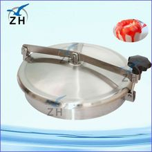 Sanitary stainless steel tank hatch cover