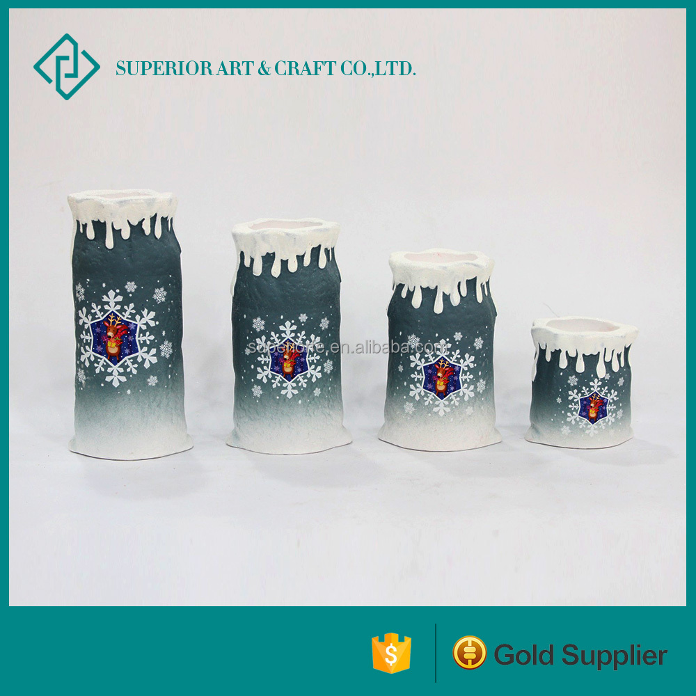 Wholesale ceramic candle cup holders , ceramic candle cup