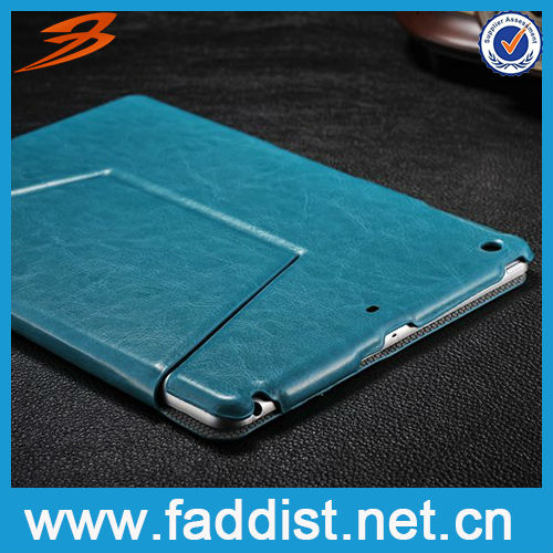 Slim Smart PU Leather Case for iPad Air with stand