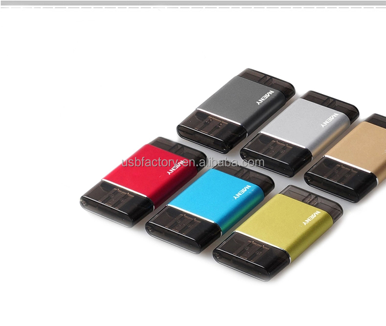 New china products wholesale custom 4gb mini otg usb drive flash for iphone