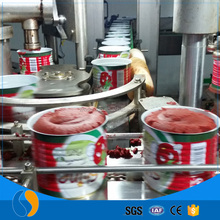 Canned tomato paste 70g filling machine production line